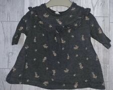 Girls First Size ( Up To 7.8lbs ) Next Long Sleeved Bunnies Top