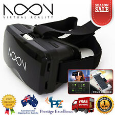 Noon VR Virtual Reality Headset Smart Glasses 3D Movies Glasses Smartphone Black
