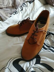 Dr Martens Suede Tan Vintage Made In ENGLAND Shoes Size Uk 7
