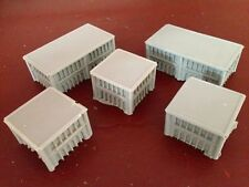 1/300 6mm Terrain Warhammer Epic Adeptus Titanicus & Resin Buildings x 10