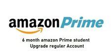6 Months Amazon Prime Video & Music, Upgrade regular Account. read description.