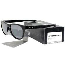e88000e081 Oakley OO 9315-03 STRINGER Polished Black Frame Black Iridium Mens  Sunglasses