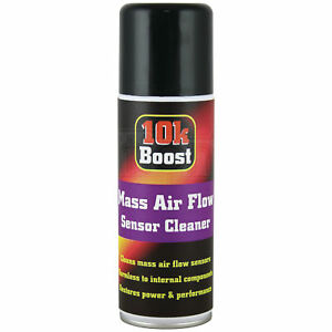 10KBoost Mass Air Flow MAF Sensor Cleaner Spray Restores Power Performance 200ml