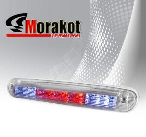 07-13 Chevy Silverado GMC Sierra 3rd Third Brake Light LED Stop Rear Lamp Clear