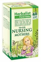 Herbal nursing tea for breastfeeding mothers stimulating mother s milk 40 tea ba