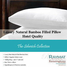 Kensingtons®Bamboo Anti Bacterial Pillow Hypo Allergenic Firm Head Back Support