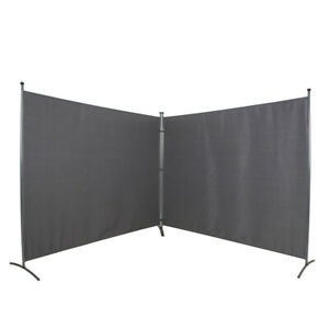 Room Divider -  142 x 72 – Folding Partition Privacy Screen for Office,