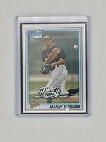 2010 TOPPS MANNY MACHADO ORIOLES FIRST BOWMAN ROOKIE CARD RC MINT