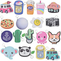 Harajuku Various Mini Wallet Animal Purse Cute Train Panda PU Zipper Keyring Bag