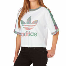 adidas Cotton Cropped Tops & Shirts for Women