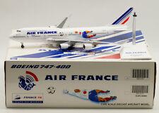 1:200 35CM JC WINGS AIR FRANCE BOEING 747-400 Passenger Plane Diecast Model