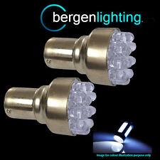 382 1156 BA15s 245 XENON WHITE 12 DOME DEL REAR FOG LIGHT BULBS BRIGHT RF200201