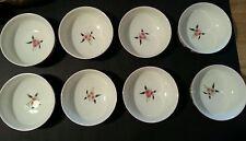 """Villeroy & Boch Flora Bella 8 Cereal Bowls 5 3/4"""" RARE HARD TO FIND"""