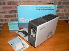 Vintage Franke & Heidecke Rolleiscop P-18 Slide Projector w/6 Dia-Magazin Trays