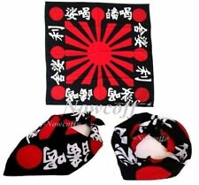 Japan Rising Sun Bandana Headwrap Biker Accessories Unisex Scarf Hairband Battle