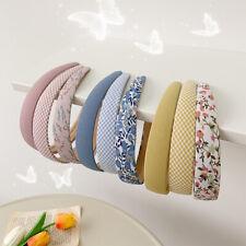 Women's Sequin Padded Headband Hairband Wide Hair Band Hoop Hair Accessories
