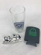 Rare!! Beer Glass - Firestone Walker Brewing Company -Luponic Distortion Coozie