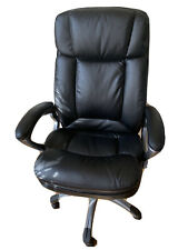 Serta Big Amp Tall Executive Chair Faux Leather Black 43675