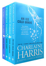 Charlaine Harris Collection Harper Connelly 4 Books Set Grave Surprise, Sight