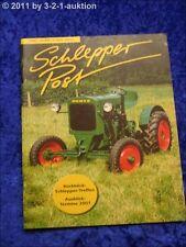 Schlepper Post 1/01 TT 220 Ursus C45 Fahr D 15 Güldner