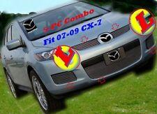 07-09 2008 2009 Mazda CX7  Polished Billet Grille Combo