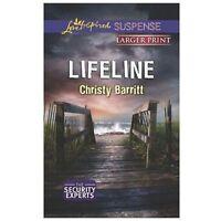 The Security Experts Ser.: Lifeline by Christy Barritt (2013, Mass Market,...