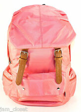 PINK Nylon Backpack School Bag!Cute & Stylish in Great Quality
