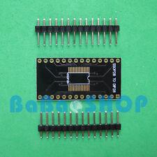 3pcs Gold-plating SOP16/28 SSOP28 to DIP16/28 Adapter Converter PCB Board + Pin