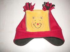 Disney süße Fleece Mütze Gr. 86 / 92 oder 51 gelb-rot !!