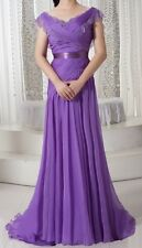 Tailor Made for All Sizes New Bridesmaid Mother of the Bride Dress Formal Gown