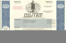 PHL Corp > old Pennsylvania stock certificate share