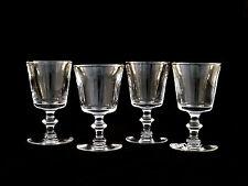 Steuben Crystal #7725 Claret Red Wine Glasses