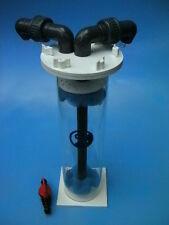 Dual 300 reactor (1300l). para fosfato, Bio Pellet / Perla, Phosban y carbono.