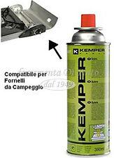 Bombolette Butano CP 250 Cartuccia Ricarica Fornello Gas Campeggio KEMPER