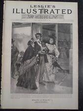 US Pension Agency For Veterans Civil War New York Frank Leslie's 1894 Original