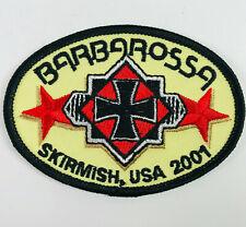 Skirmish Usa 2001 Barbarossa Paintball Jim Thorpe Pennsylvania Patch