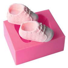 3D Silicone Soap Mold Baby Shoes Shaped Cake Decoration Fondant Cake Mold