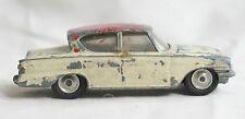 VINTAGE CORGI TOYS # 234 FORD CONSUL CLASSIC CAR DIECAST 1961 BEIGE/PINK