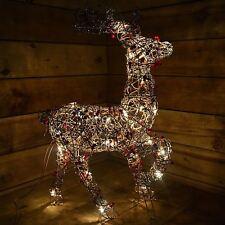 TWIG & Berry Renna Indoor RETE alimentata personaggio natalizio 70 cm