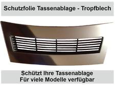 2 x Schutzfolie für Jura J6 Serie Abtropfblech Tassenablage J 9.4, J500, J90 J95