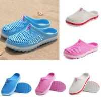 Men Women Breathable Slippers Hollow-out Mesh Beach Sandals Garden Hole Shoes UK