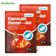 16 Pcs Capsicum Plaster-Hot Health Care Medical Patch Medical Balm Plaster Kn…