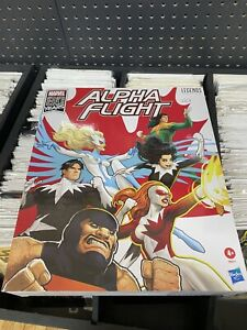 Marvel Legends Alpha Flight Action Figure 5 Pack Exclusive