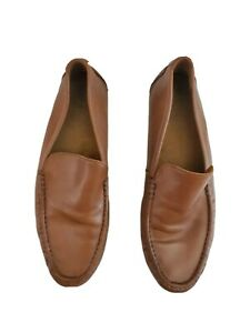 Cole Haan Men Tan Leather Soft Slip on Driving Moccasin  Loafers Size 11.5M