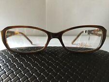 Cole Haan Eyeglasses CH 949, Brand New, Brown Horn Plastic