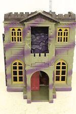 Batman Wanye Manor Batcave Playset purple and gray