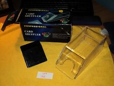 Card Shuffler (Clear) (NEW) ....AUCT#1368