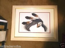 Frank Howell -  Teton Dancer - 1991 -  Lithograph - 110/140 - Framed and matted