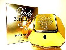 Paco Rabanne Lady Million EDP Eau de Parfum 80 ml Original; OVP