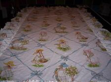 1976 Holly Hobbie Twin Size Bed Sham